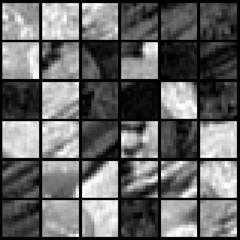 PCA dimension-reduced images (99% variance)